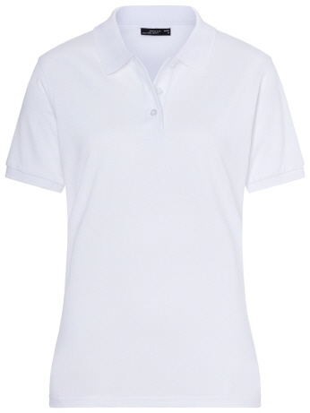JN071-w weisses Damen Classic Polo S-2XL