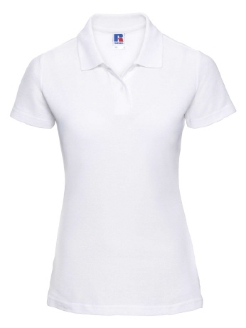 R539F-w weisses Damen Polo, Mix65/35 2XL