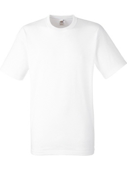 R215M-w weisses Heavy Classic T-Shirt S-2XL