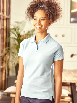 R539F farbiges Damen Polo Mix65/35 XS-2XL