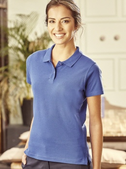 R577F farbiges Damen Polo, bis 60°C XS-2XL