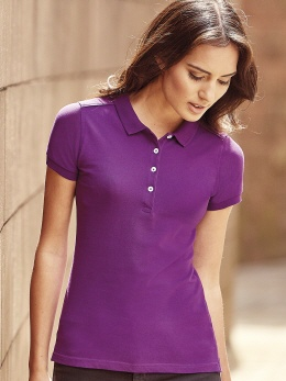 R566F farbiges Damen Stretch-Polo XS-2XL