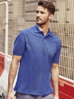 R599M farbiges Robust Poloshirt XS-2XL